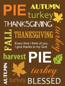 What I love about Thanksgiving