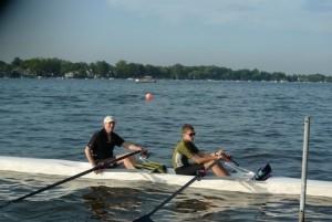 Alan and Jacob, goals rowing #2